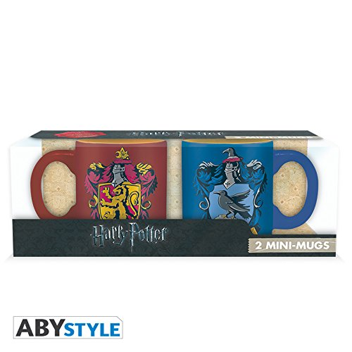 ABYstyle Dragon Ball Harry Potter Set 2 Mini-Mugs Gryffindor & Ravenclaw, ABYMUG306