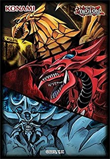Yu-Gi-Oh! TCG: Slifer, Obelisk, Ra Sleeves Pack (50)