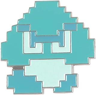 MALALPHA pins Chat Bleu Vintage Geeks
