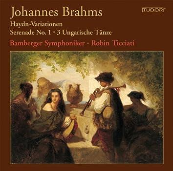 Brahms: Haydn-Variationen - Serenade No. 1 - 3 Ungarische Tänze