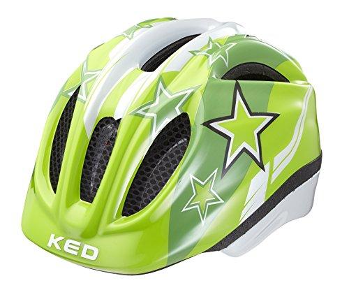 KED Fahrradhelm Meggy, Green Stars, M, 16409179M