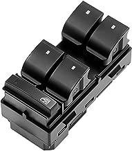 Driver Side Power Window Master Control Switch - Replaces OE# 20945129 D1954F 25789692 25951963 - fit Chevy Silverado GMC Sierra Traverse HHR Yukon Buick