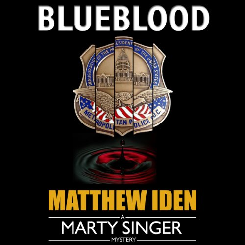 Blueblood (Marty Singer Mystery #2) audiobook cover art