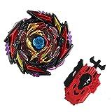 QIANQ Beyblade Burst Turbo Set,Peonzas Juguetes Conjunto,Burst Turbo Launcher Set,Navidad Regalo, Regalo para Los Niños
