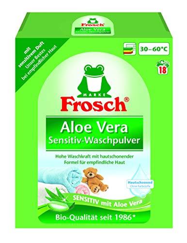 Frosch Aloe Vera Sensitiv-Waschpulver 18WL, 1,35 kg