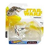 Star Wars Rebel Snowspeeder mit Aufsteller - Hot Wheels Starships Serie -