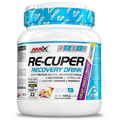Amix Re-Cuper Recovery Drink 550 Gr Frutas Del Bosque 550 g