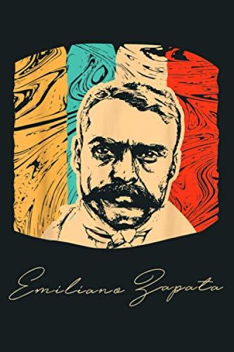 Emiliano Zapata Mexican Revolution Historical Retro: Notebook Planner - 6x9 inch Daily...