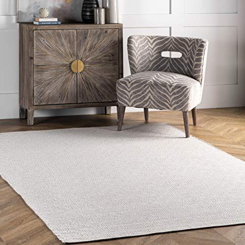 nuLOOM Lorretta Hand Loomed Area Rug, 4' x 6', Taupe