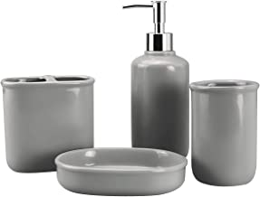 Best bathroom accessories gray Reviews