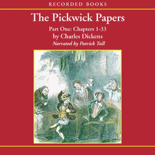 The Pickwick Papers, Volume 1 cover art
