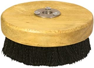 scrub brush for rotary buffer