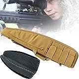 DDCHH Rifle Bolsa Estuche Funda para Escopeta para Pistola Mochila, lmacenar o Transportar Rifles Individuales, Estuche para Rifle de Aire para Caza, Pesca,120cm/47In