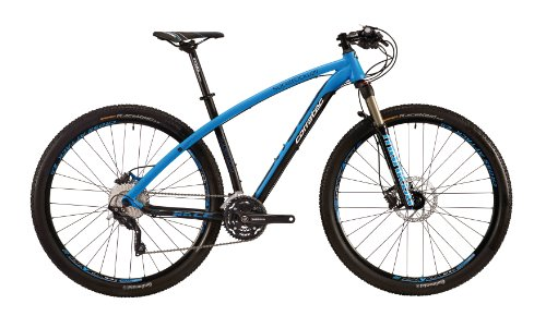 Corratec Fahrrad MTB SB Race 29, Schwarz/Blau, 54, BK17026-0054