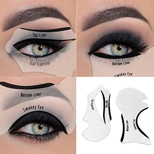 Eyeliner Stencil Tool-Schwarz