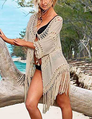 Bsubseach-Women-Bohemian-Bikini-Swimsuit-Cover-Up-Swimwear-Tassel-Cardigan