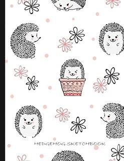 Hedgehogs Sketch Book: Blank Sketchbook, 8.5 x 11, 125 Pages (My Sketchbook)