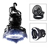 AGPtek® 2-in-1 18 LED Camping Light and Ceiling Fan Outdoor Hiking Flashlight
