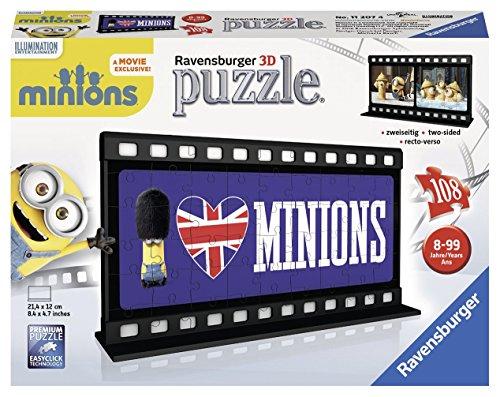 Ravensburger 3D-puzzel 11207 - filmstrepen Minion, British, kleurrijk