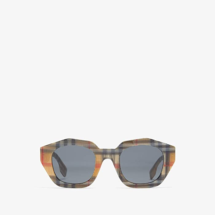 Burberry  0BE4288 (Vintage Check/Grey) Fashion Sunglasses