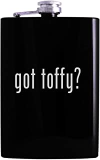 got toffy? - 8oz Hip Alcohol Drinking Flask, Black