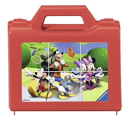 Ravensburger - 07465 - Puzzle Enfant Cubes - Mickey en Vadrouille - 6 cubes