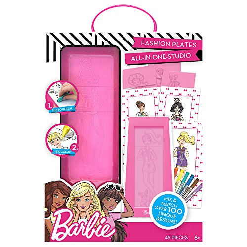 Barbie Fashion Plates Todo en Uno Studio ...