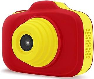 Cámara para niños Mini doble lente de la cámara vídeo de la acción Videocámara digital de 4 colores con cámaras digitales 12 millones de píxeles for la edad 3-10 Año de niños viejos niños Cámaras digi