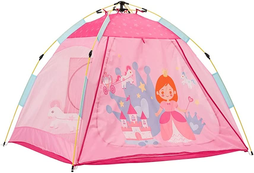MKVRS Children's Play San Antonio Mall Tent Indoor Quick-Open Some reservation Dollhouse Outdoor