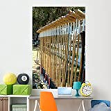 Wallmonkeys Polo Mallets Wall Mural Peel and Stick Graphic (72 in H x 47 in W) WM82657