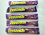 5 x Nestle Munch 10.1 grams gms chocolate Chocolates - made in India (pack of 5 nestle munch