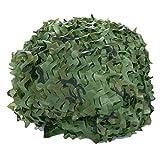 36-60M² Woodland Camouflage Netting, antisolaires Décorations Filets de Jardin...