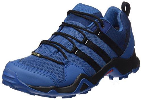 Adidas Terrex Ax2r GTX, Zapatos de Senderismo para Hombre, Azul (Azubas/Negbas/Azumis), 43 1/3 EU