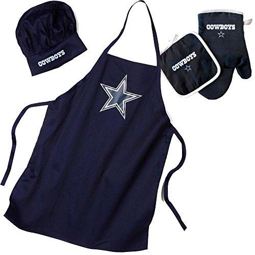 dallas cowboys apron and chef hat - 7