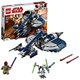LEGO Star Wars- General Grievous Combat Speeder TM Star Wars Juego de Construcción, Multicolor, única (75199)