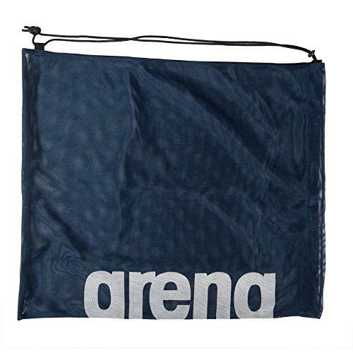 ARENA Unisex – Erwachsene Mesh Schwimmbeutel Turnbeutel, Team Navy, one Size