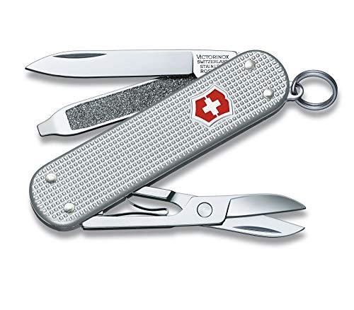 Victorinox Swiss Army Classic Pocket Knife (Silver Alox)