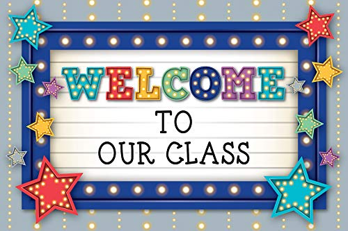 Teacher Created Resources Marquee Welcome Postcards (5486)