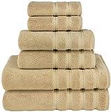 American Soft Linen 6-Piece 100% Turkish Genuine Cotton Premium &...
