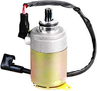 Chanoc Electric Motor Starter for GY6 125cc 150cc Motorcycle ATV Scooter Taotao Baja with Cable