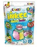 CRAZE Back INKEE Fruity Pack DREI Badekugeln mit 3 verschiedenen Frucht-Düften Kirsche Limette und Ananas 25871