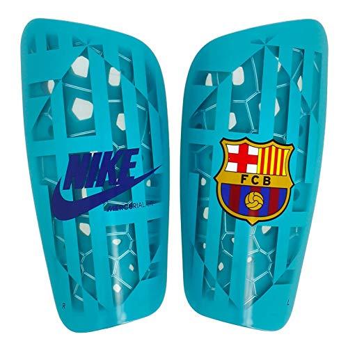 NIKE FCB NK Merc LT GRD Espinilleras Fútbol, Adultos Unisex, Multicolor (Cabana/Cabana/Deep Royal), S