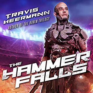 The Hammer Falls audiobook cover art