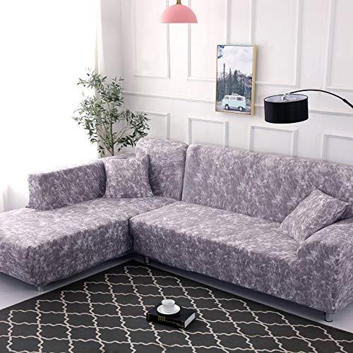 WXQY Patrón geométrico en Forma de L Funda de sofá Modular sofá Toalla Familia decoración antiincrustante Funda de sofá Todo Incluido A13 1 Plaza
