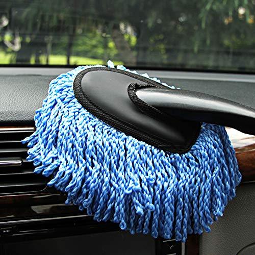 Modenny Auto Reinigungsbürste Microfiber Auto-Fenster-Wäsche-Reiniger-Lange Griff-Staub-Auto-Sorgfalt-Tuch Handliche Waschbare Auto-Schmutz-Staub-Saubere Bürste