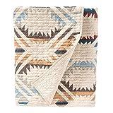 Pendleton White Sands Coverlet Blanket Set, Sandshell, Full/Queen