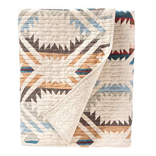 Pendleton White Sands Coverlet Blanket Set, Sandshell, King
