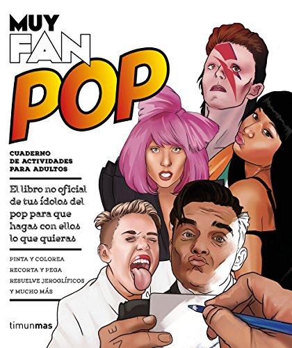 Muy fan. Pop: Cuaderno de actividades para adultos (Biblioteca No Ficción)