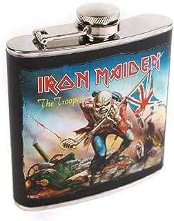Unbekannt Iron Maiden–Petaca, Acero, Negro, 9x 2.5x 11cm