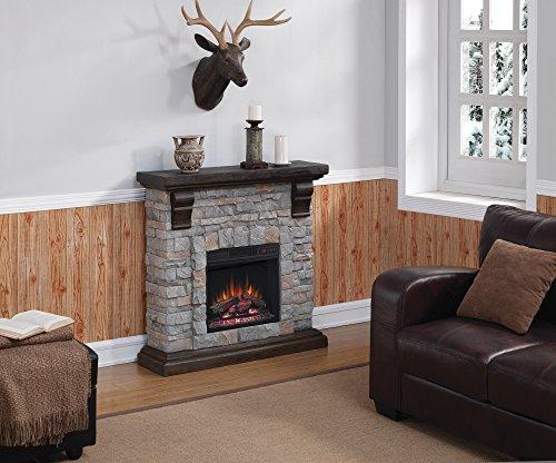 ロイドグランデ『18インチ電気暖炉セット』